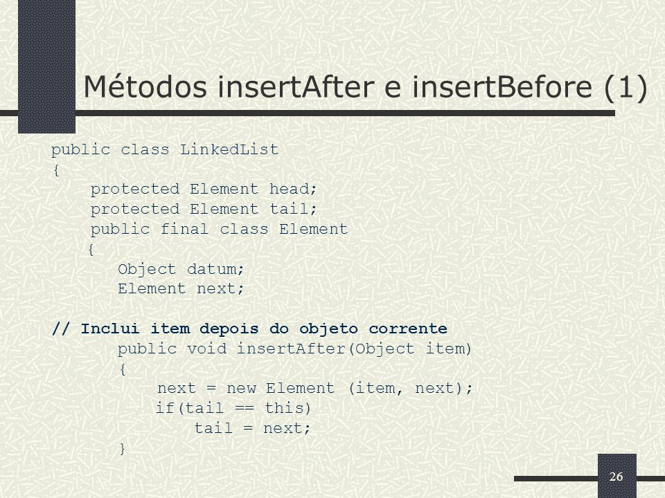 Métodos insertAfter e insertBefore (1)
