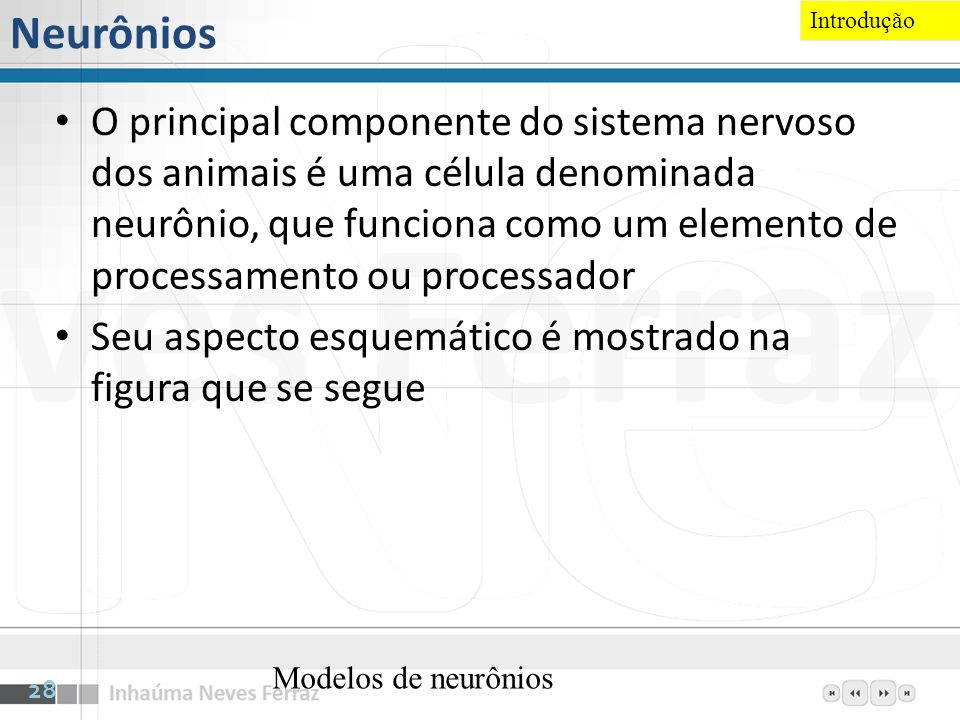 Neurônios Introdução.