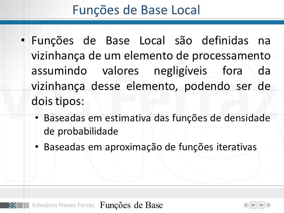 Funções de Base Local