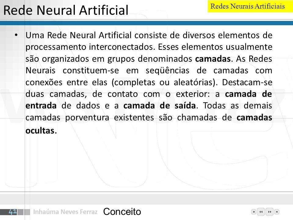 Rede Neural Artificial
