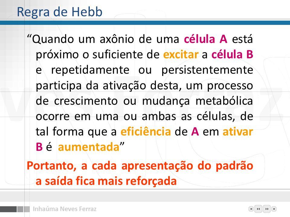 Regra de Hebb