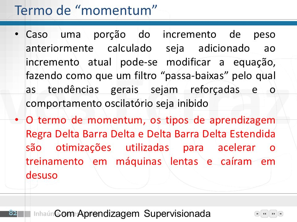 Termo de momentum