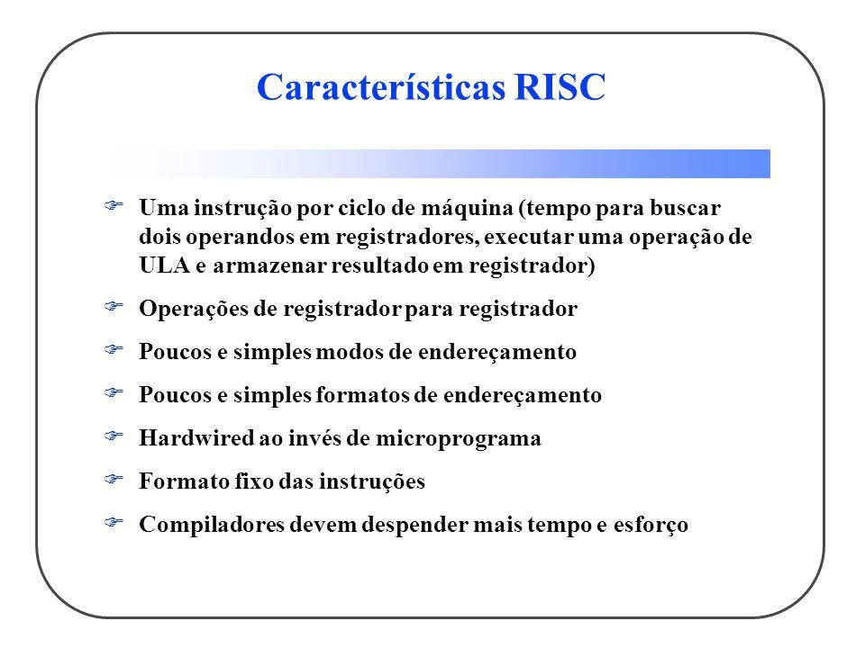 Características RISC