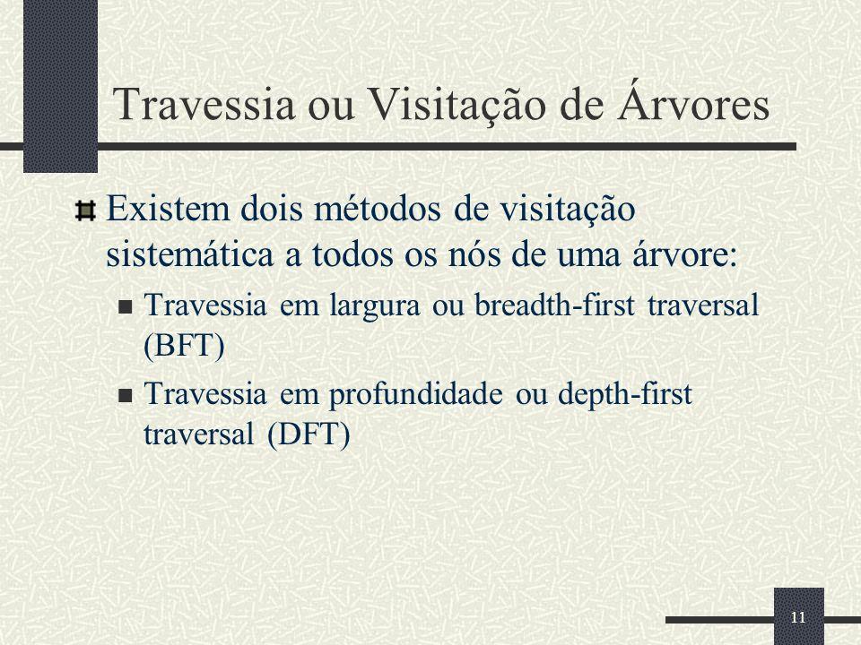 Travessia ou Visitação de Árvores