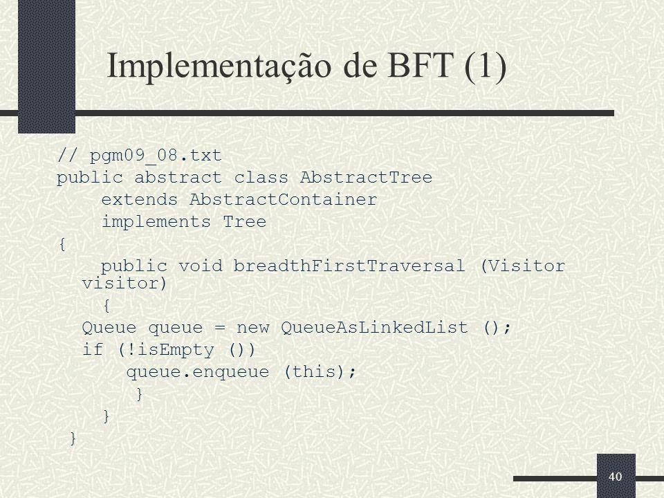 Implementação de BFT (1)