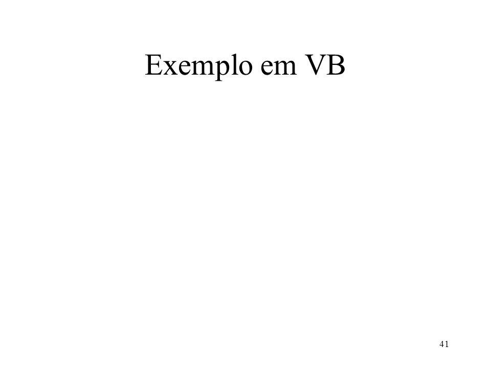 Exemplo em VB