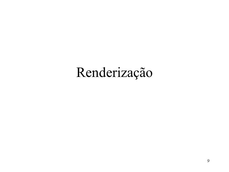 Renderização