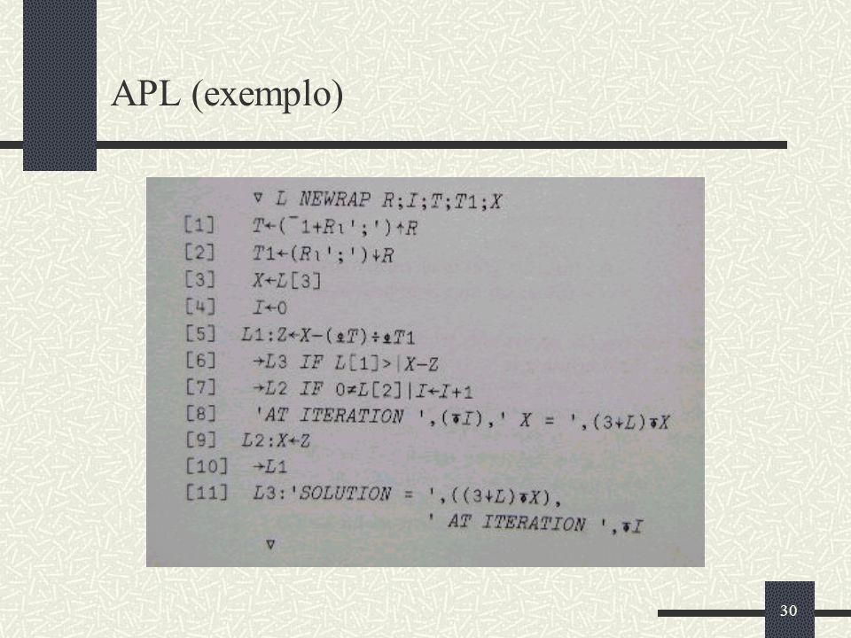 APL (exemplo)
