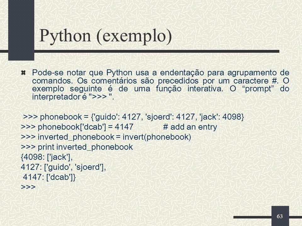 Python (exemplo)