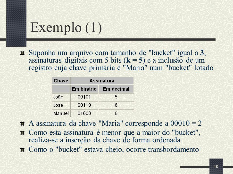 Exemplo (1)