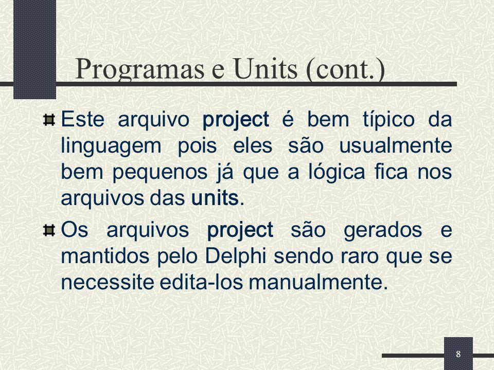 Programas e Units (cont.)