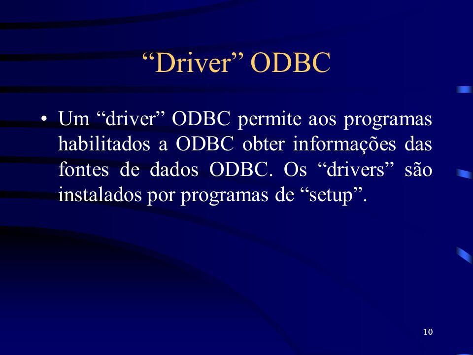 Driver ODBC