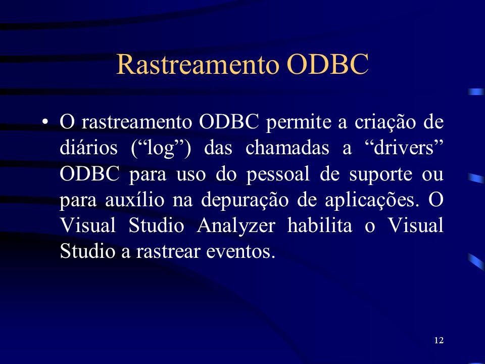 Rastreamento ODBC