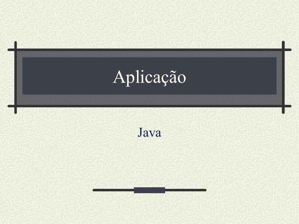 Aplicação Java