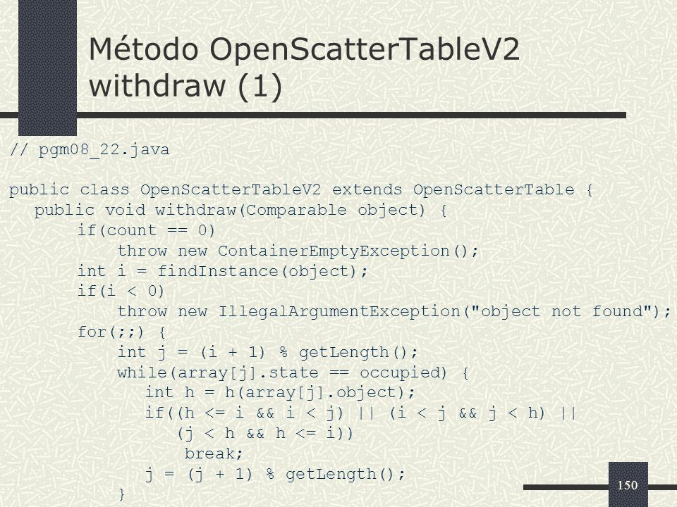 Método OpenScatterTableV2 withdraw (1)