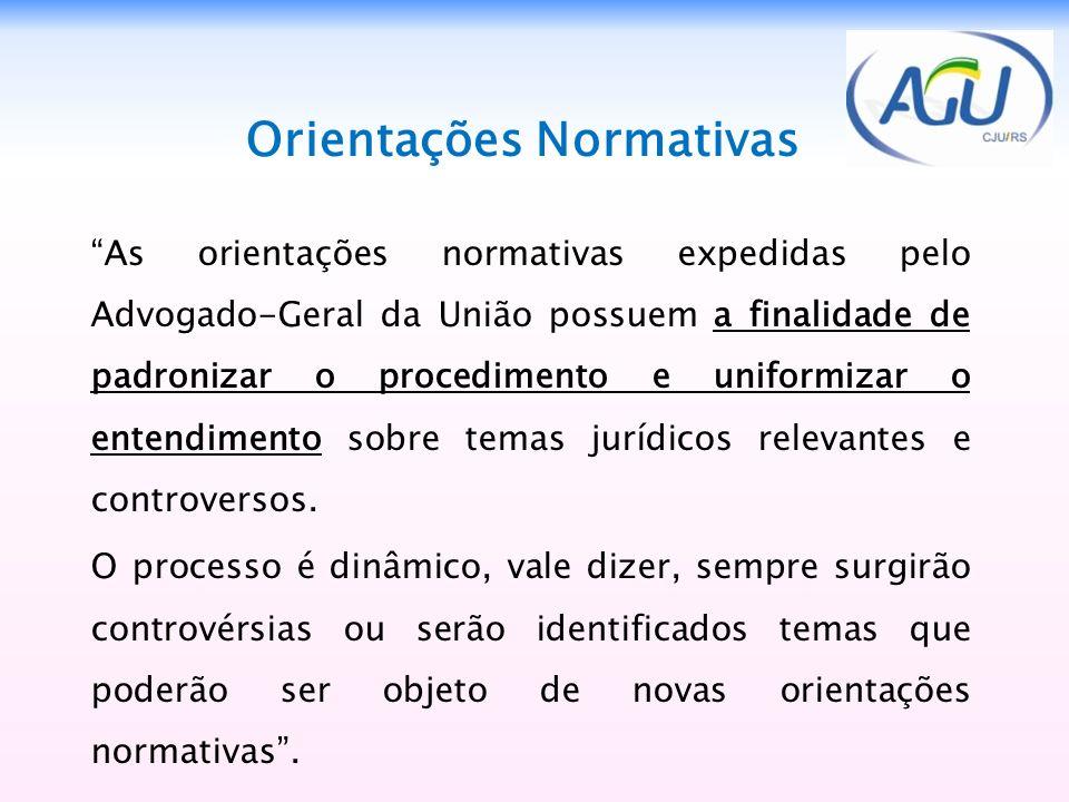 Orientações Normativas