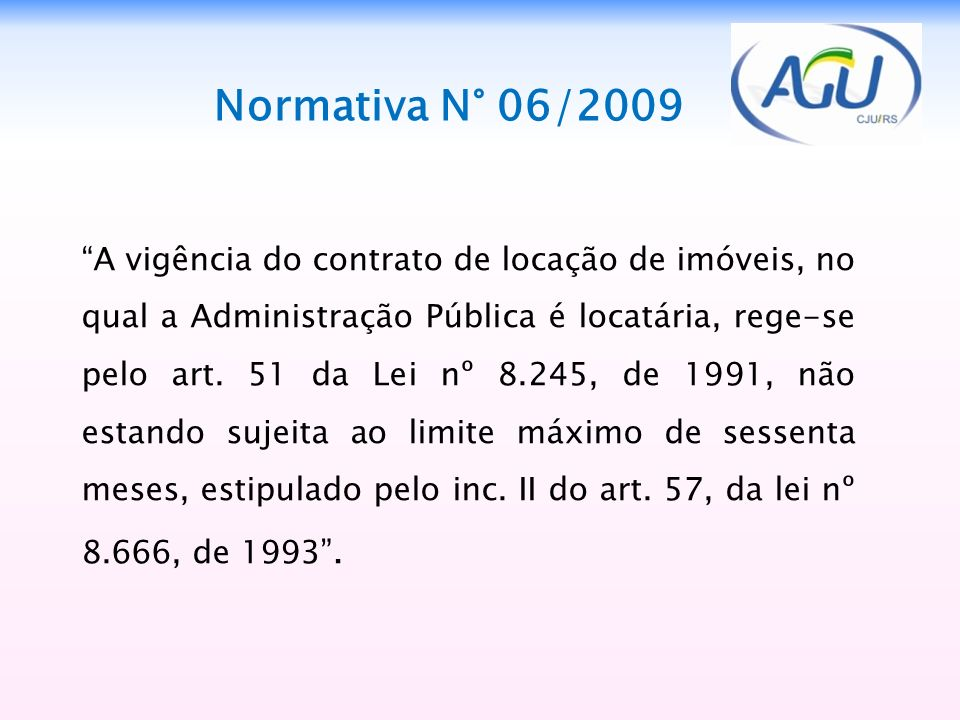 Normativa N° 06/2009