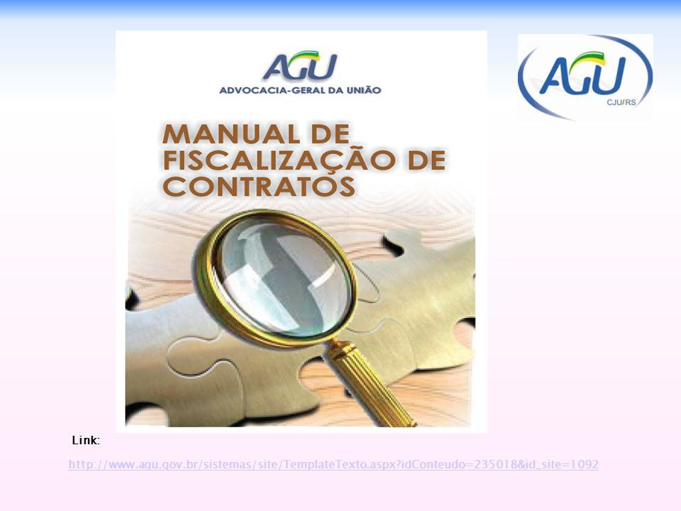 Link: http://www.agu.gov.br/sistemas/site/TemplateTexto.aspx idConteudo=235018&id_site=1092 29
