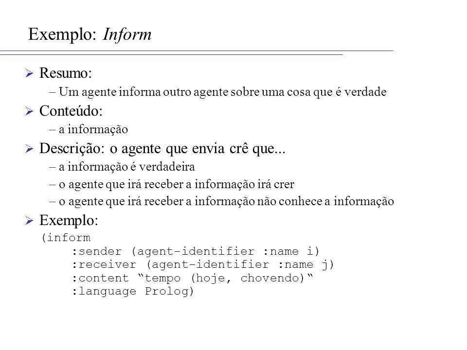 Exemplo: Inform Resumo: Conteúdo: