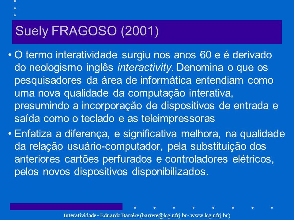 Suely FRAGOSO (2001)