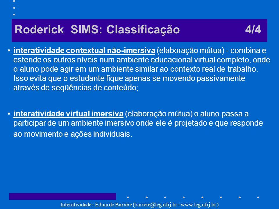 Roderick SIMS: Classificação 4/4