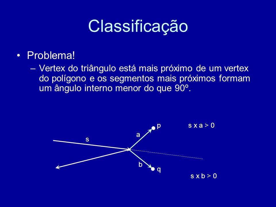 Classificação Problema!