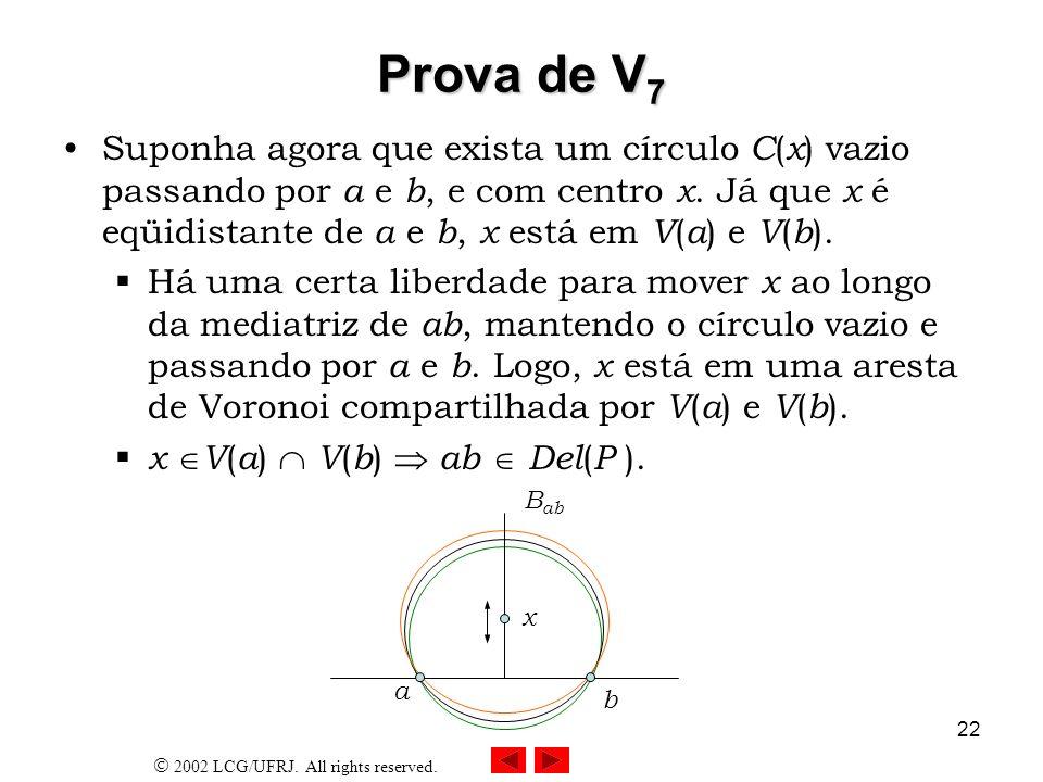 Prova de V7