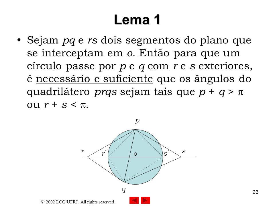 Lema 1