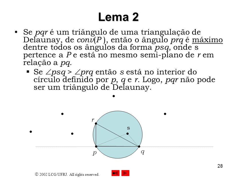 Lema 2