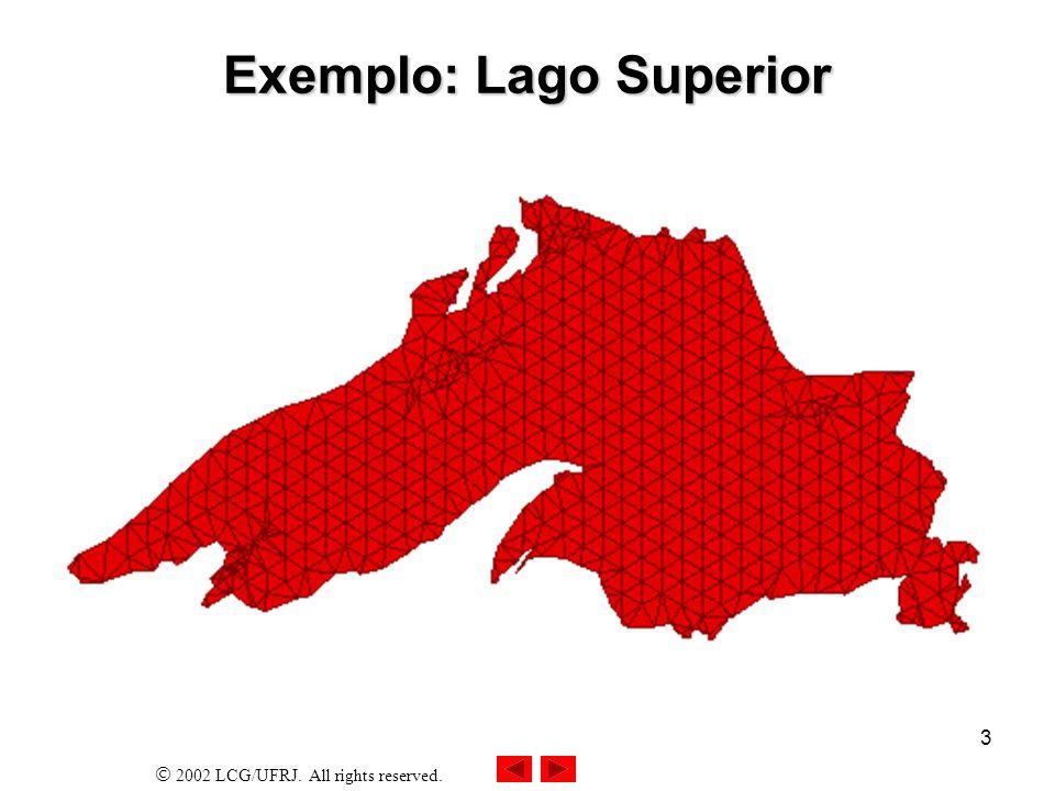 Exemplo: Lago Superior