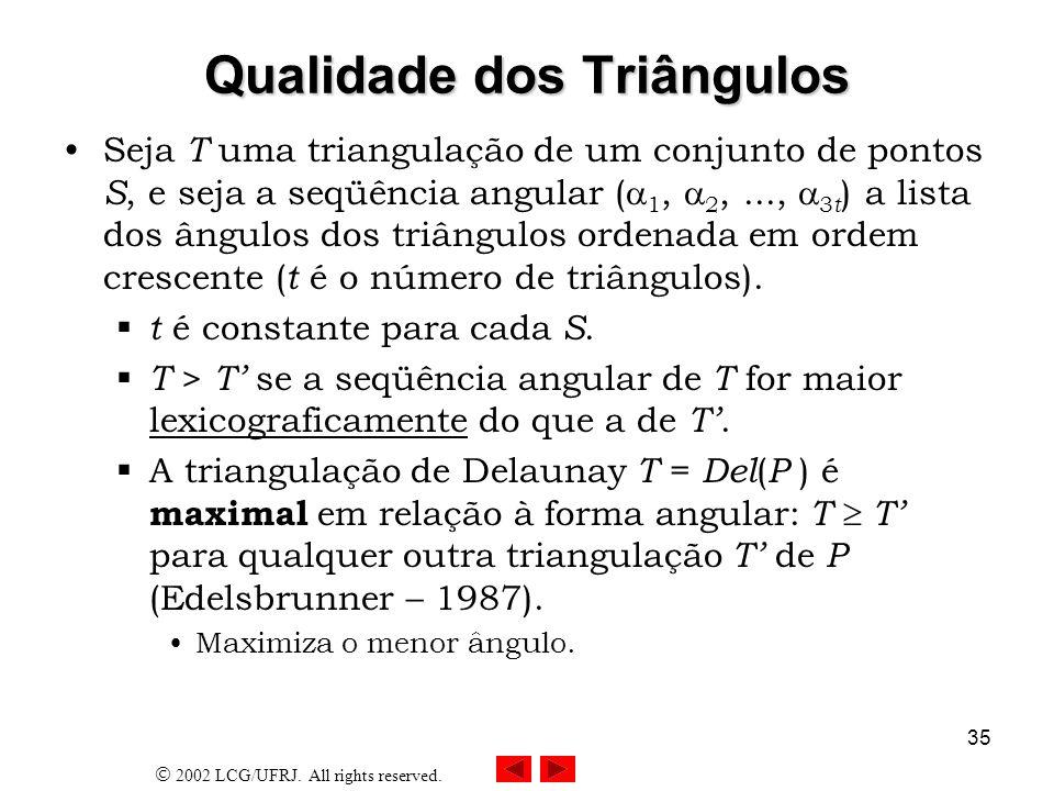 Qualidade dos Triângulos