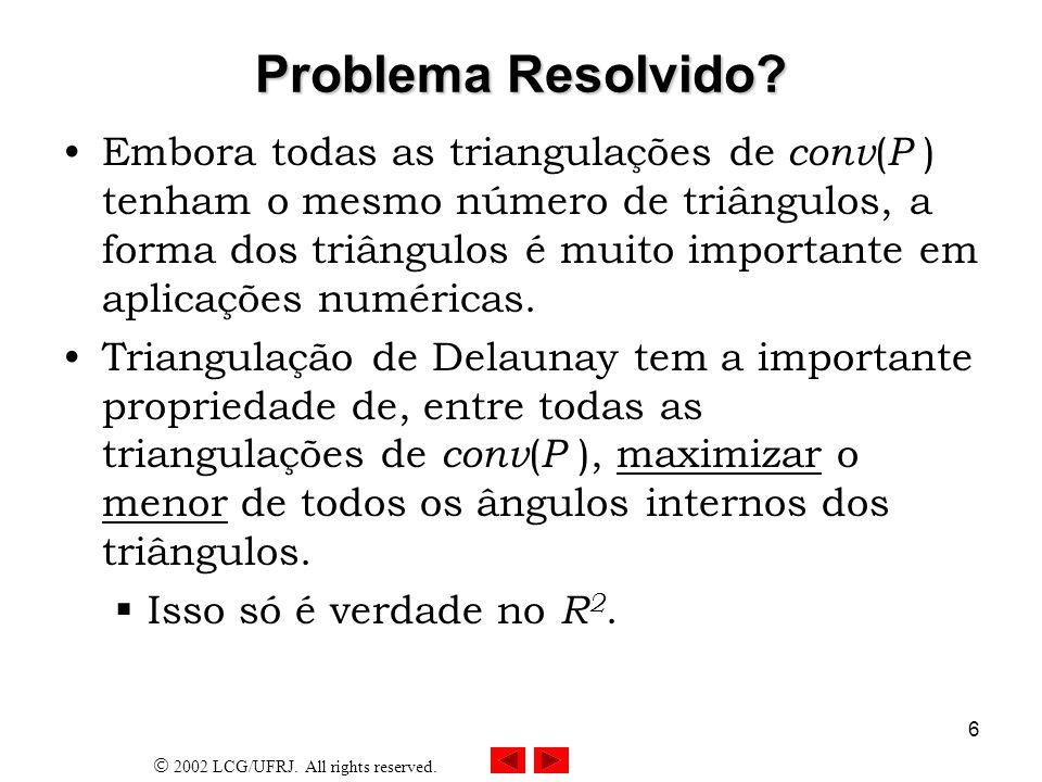 Problema Resolvido