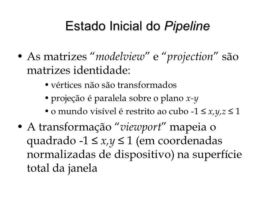 Estado Inicial do Pipeline