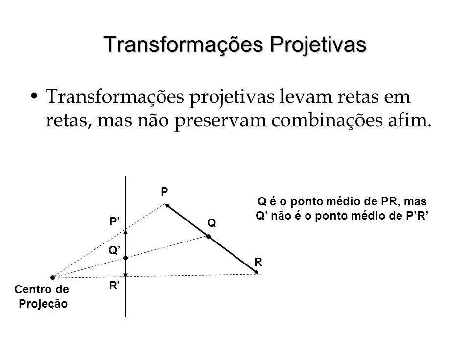 Transformações Projetivas