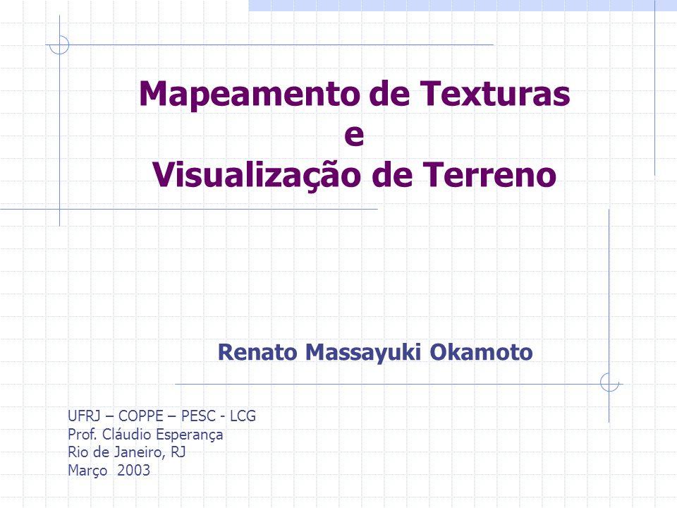 Mapeamento de Texturas e Visualização de Terreno