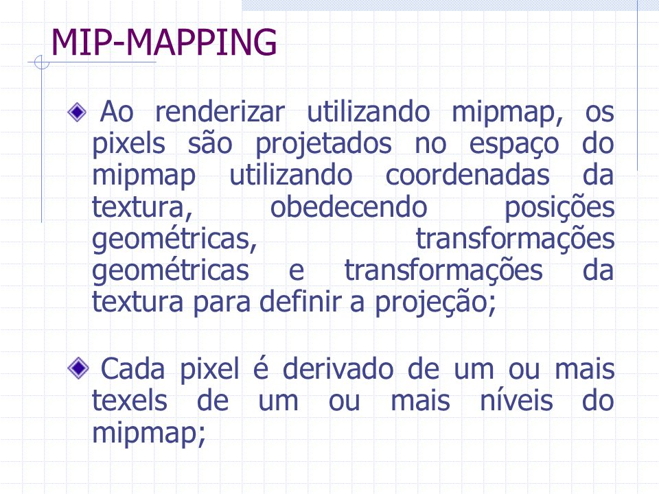 MIP-MAPPING