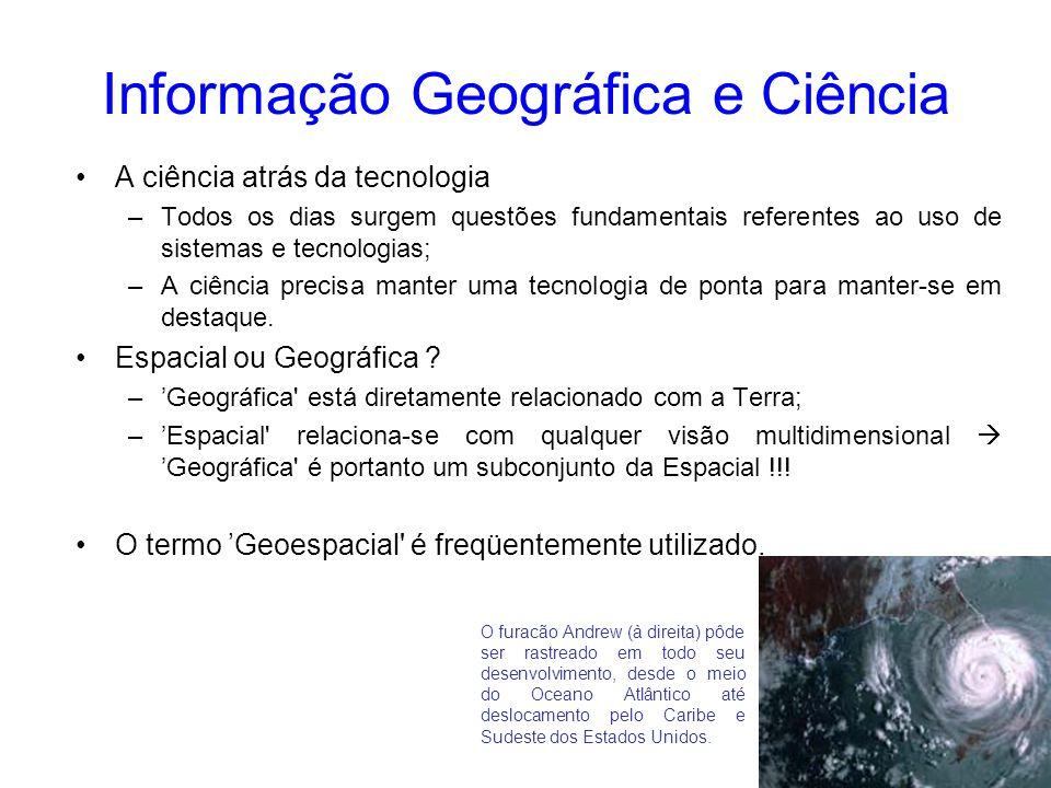 Informação Geográfica e Ciência