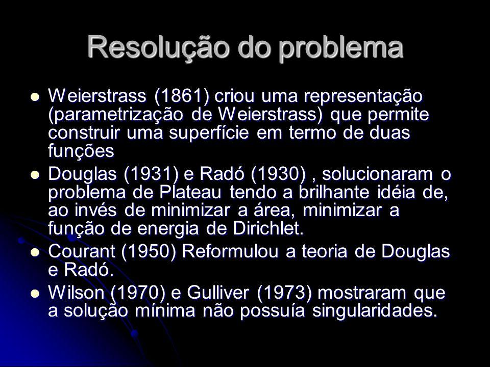 Resolução do problema