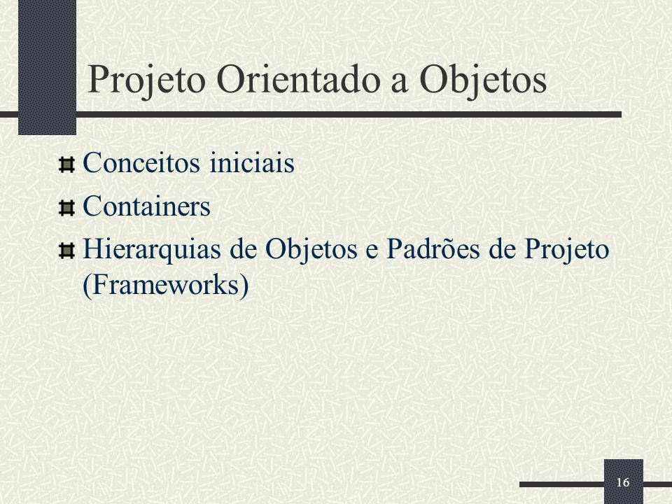 Projeto Orientado a Objetos
