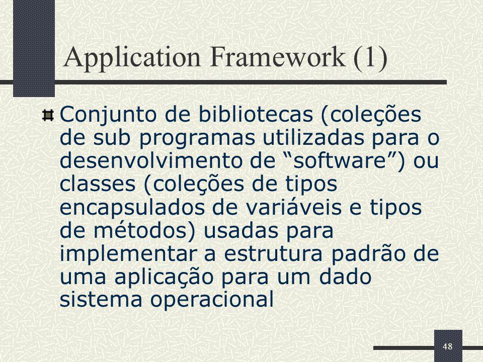 Application Framework (1)