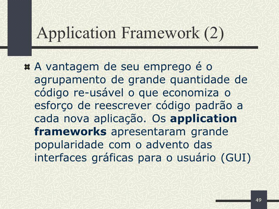 Application Framework (2)