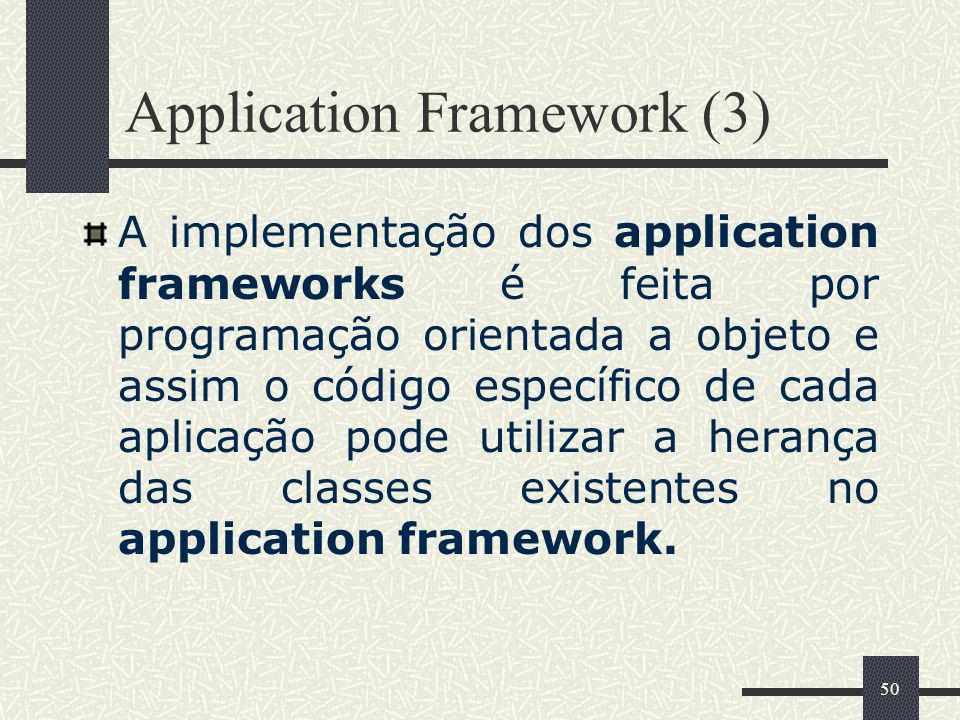 Application Framework (3)