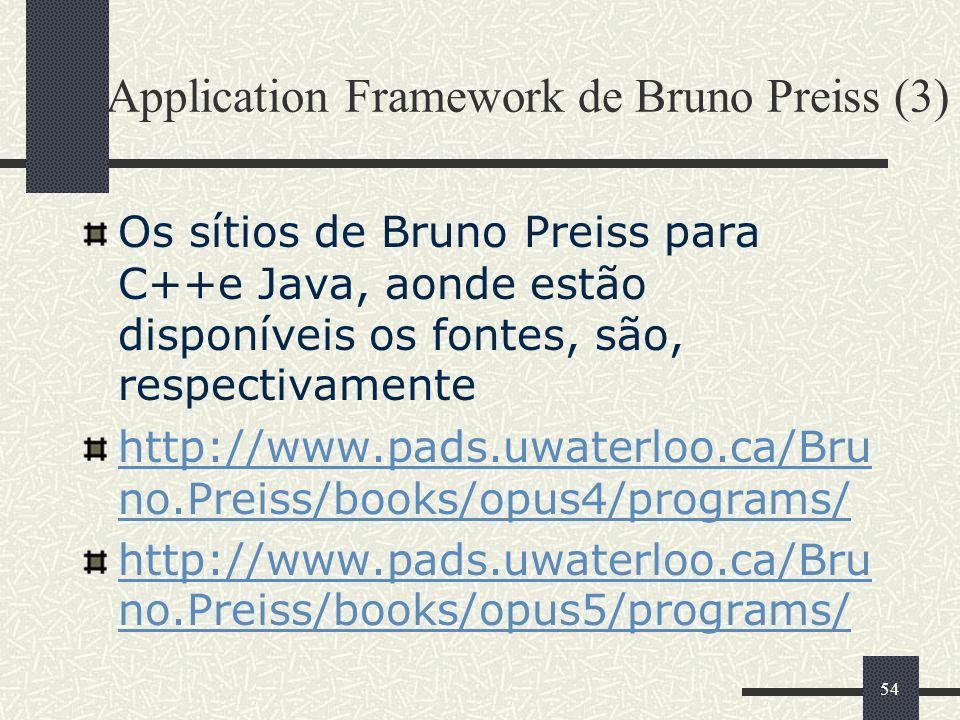 Application Framework de Bruno Preiss (3)