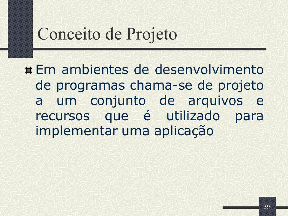 Conceito de Projeto