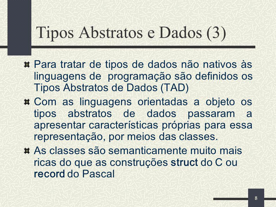 Tipos Abstratos e Dados (3)