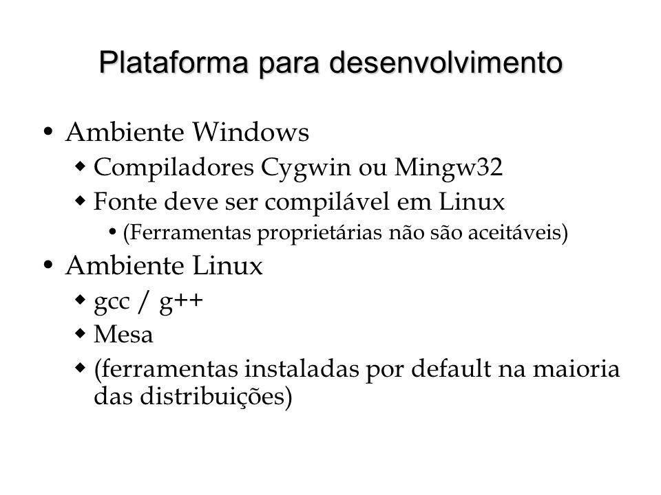 Plataforma para desenvolvimento