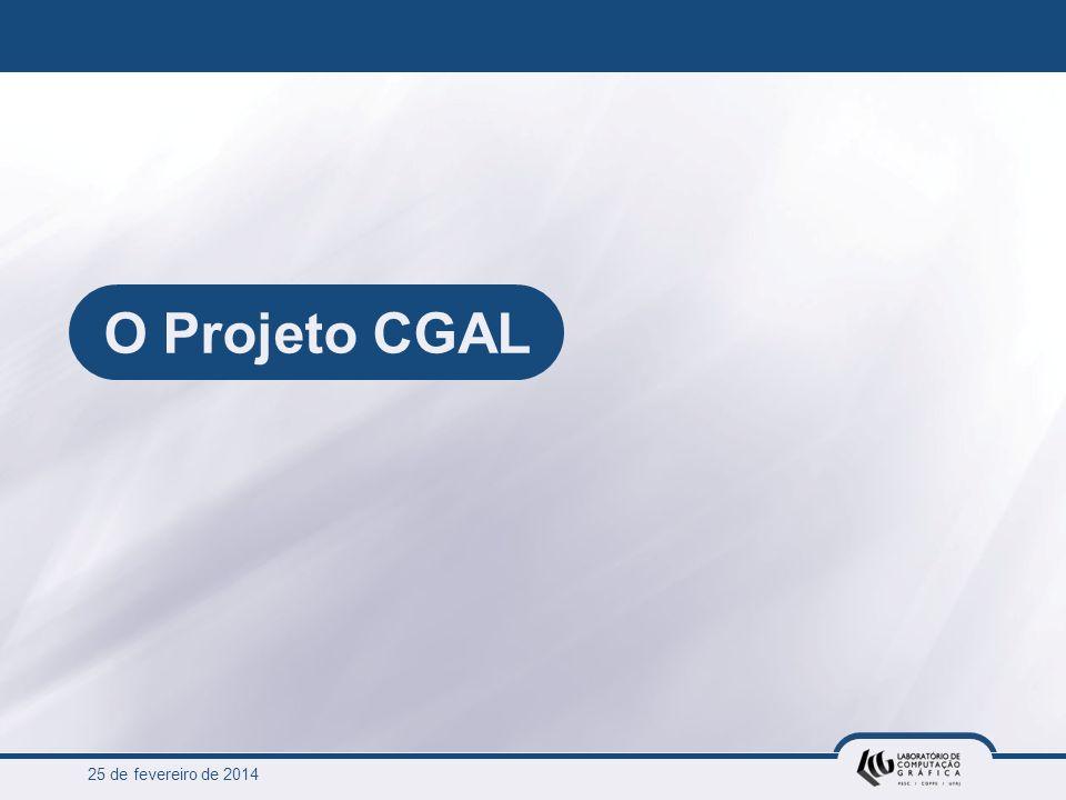 O Projeto CGAL 25 de março de 2017