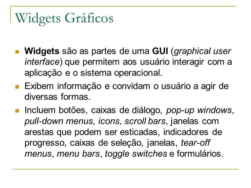 Widgets Gráficos