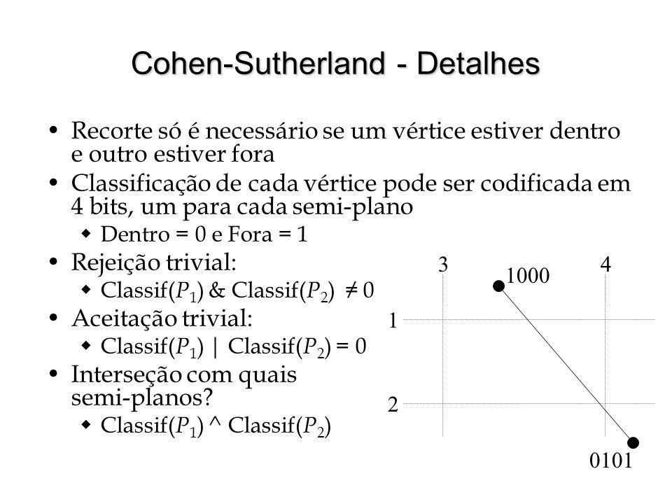 Cohen-Sutherland - Detalhes