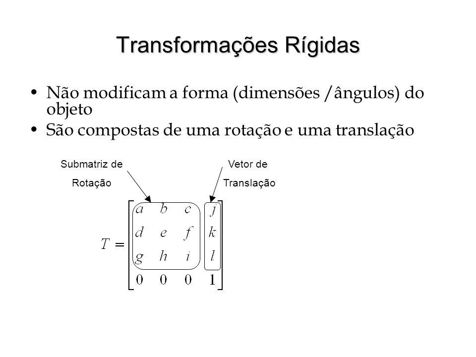 Transformações Rígidas